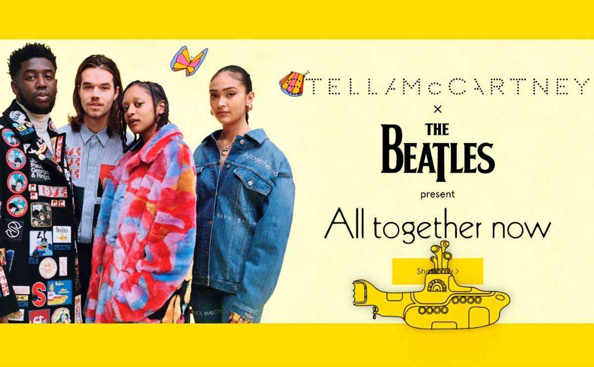 Stella McCartney enthüllt Beatles-inspirierte Kollektion