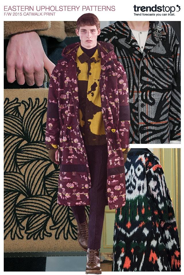Trend Prints Von Den Catwalks Der Menswear Herbst Winter 2015 16