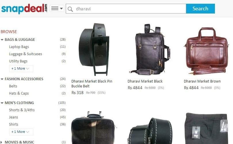 Dharavi x Snapdeal: weltgrosster Slum verkauft jetzt ubers Internet