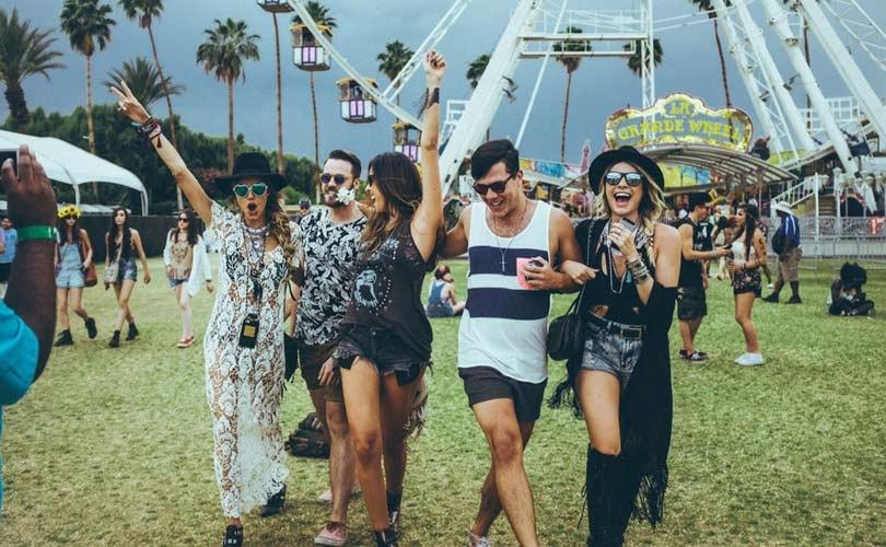 In Bildern: Vom Musik Festival zum Laufsteg