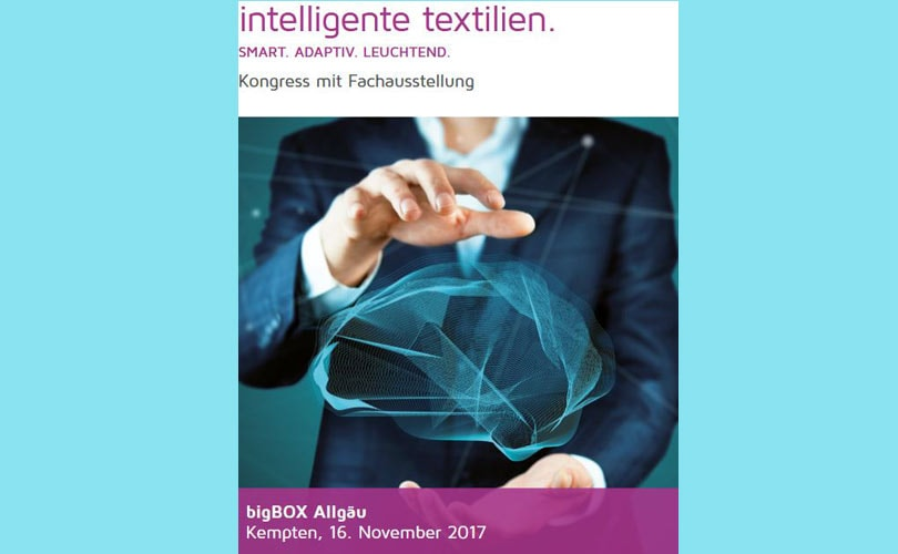 "Innovationskongress ""Intelligente Textilien"" in Kempten"