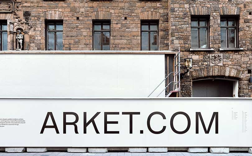 Geplanter Arket-Laden in Stockholm ausgebrannt