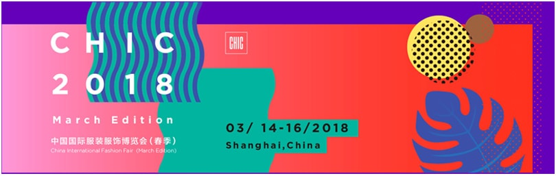 CHIC March, Shanghai, 14. bis 16. März 2018