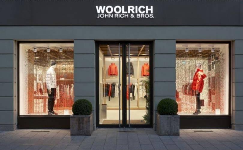 newest 37eca 9f525 Woolrich schafft neuen Erlebnis-Store in München