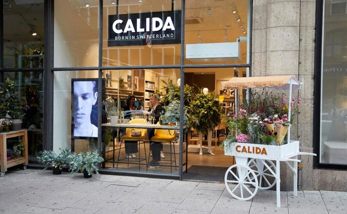 best deals on cheap for sale best sell Calida eröffnet Flagship Store Hamburg Mönckebergstraße